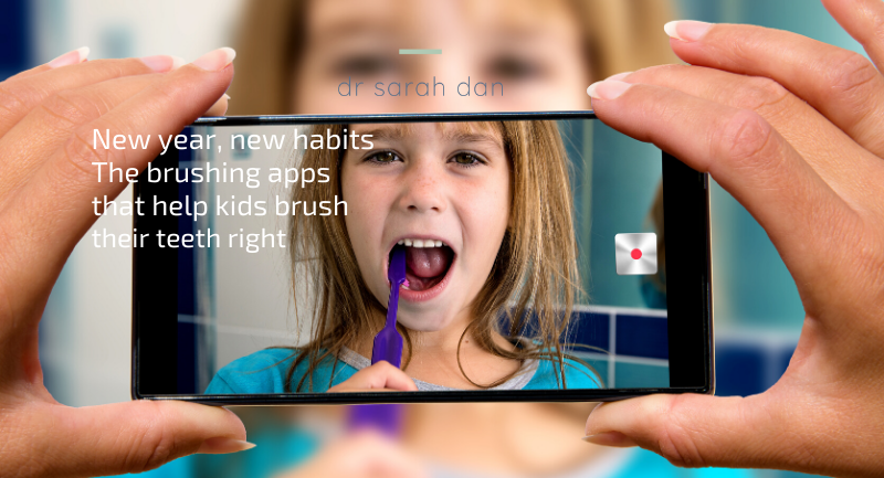 New year, new habits: The brushing apps that help kids brush their teeth right (and keep them for life)